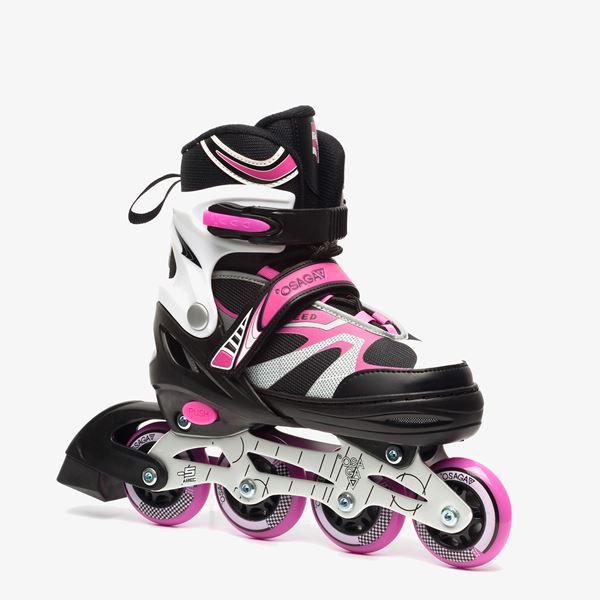 4019b76bb28 Kleine wielen zorgen voor meer balans op de skates. Het lichaamszwaartepunt  ligt immers dichter bij de grond dan bij grote wielen.